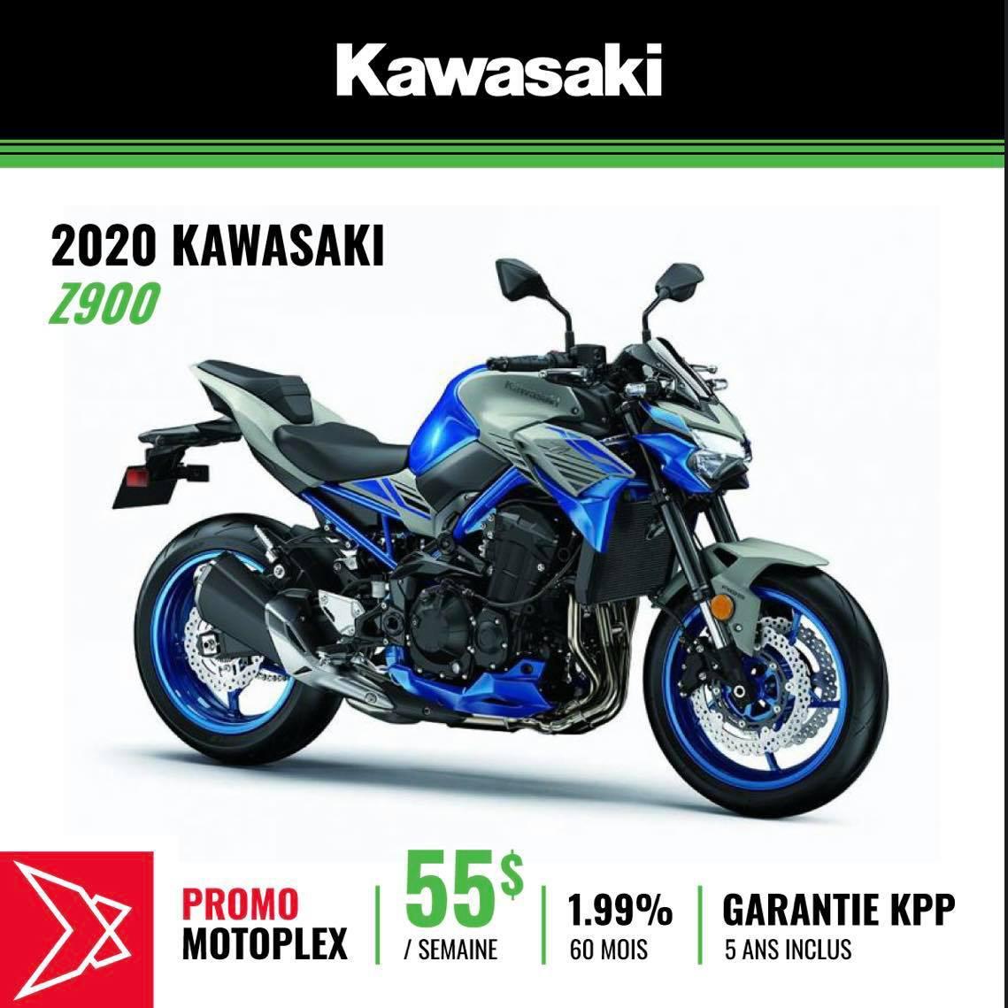 2020 Kawasaki Z900 ABS SE