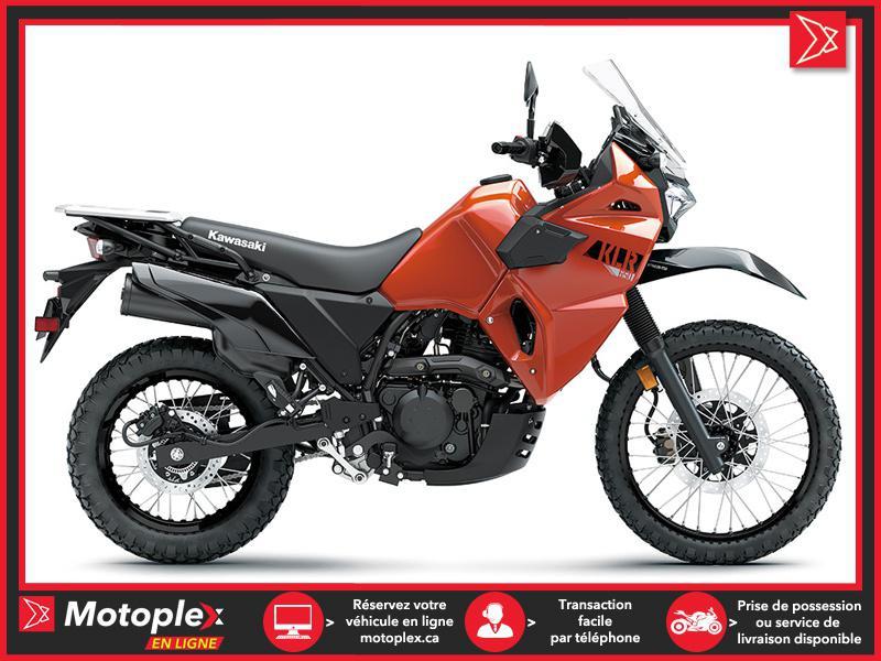 2022 Kawasaki KLR650 ORANGE PERLÉ
