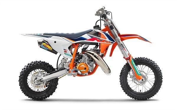 2021 KTM 50 SX FACTORY EDITION - NEUVE DISPONIBLE