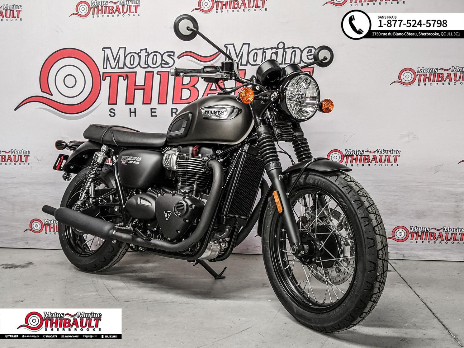Triumph Bonneville T100 Black 2020