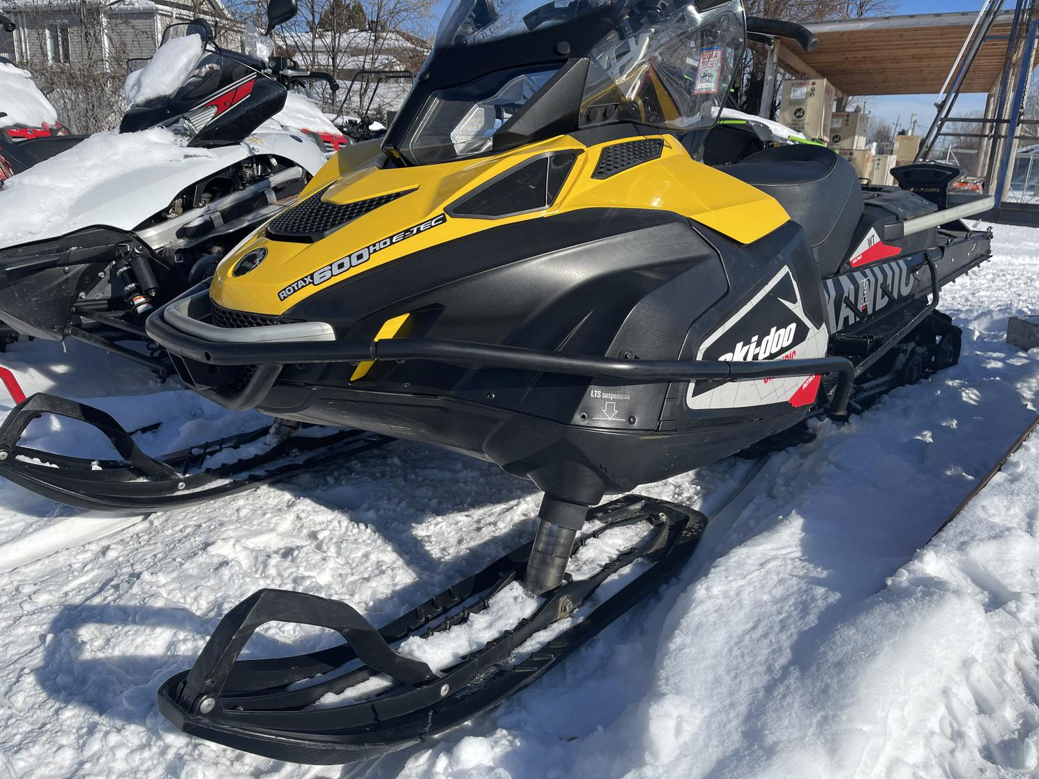 Ski-Doo BOMBARDIER Skandic WT  600 HO E Tec - 20 pouces E-Tec 600 2016