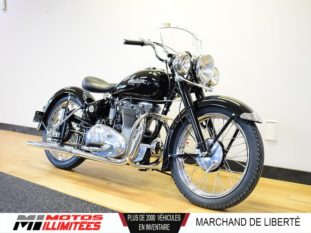 1949 Indian Motorcycles Scout Super Sport 26ci - Frais inclus+Taxes. Modèle rare.