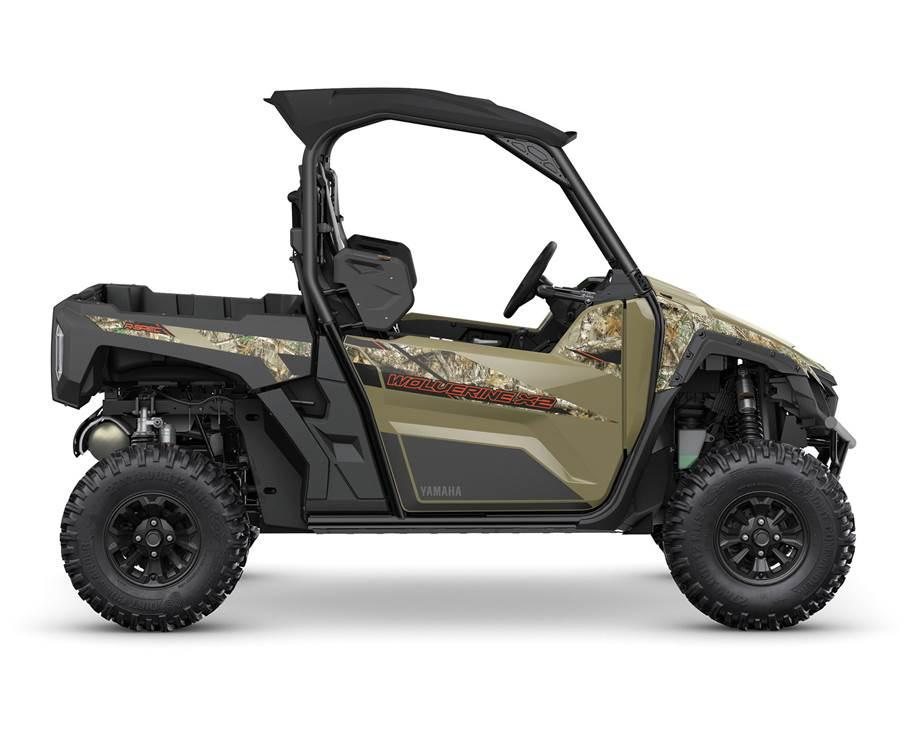 2021 Yamaha WOLVERINE X2 R-SPEC À DAE CAMOUFLAGE REALTREE EDGE
