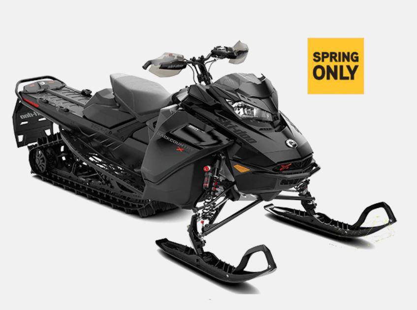 """2022 Ski-Doo Backcountry X-RS 850 E-TEC Ice Cobra 1.6"""" E.S.  w/ Premium color display"""