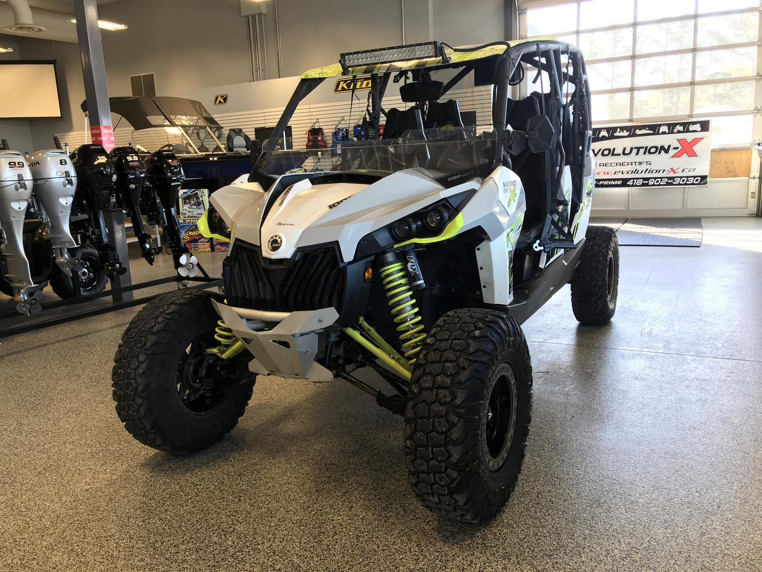 2016 CAN-AM MAVERICK MAX 1000R TURBO X DS GARANTIE 5 ANS DISPONIBLE