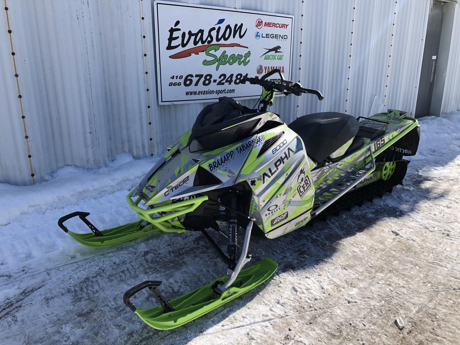 2020 Arctic Cat M8000 Mountain Cat 165 ES