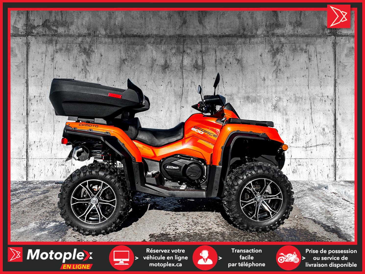 2021 CFMOTO 800 XC CLASSIC  (Options incluses) - 34$/SEMAINE