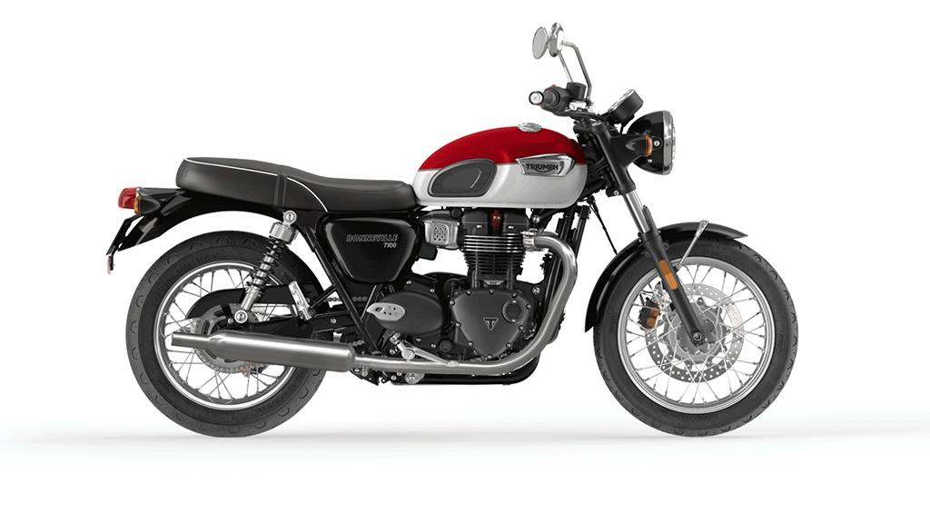 2022 Triumph Bonneville T100 Frais inclus+Taxes