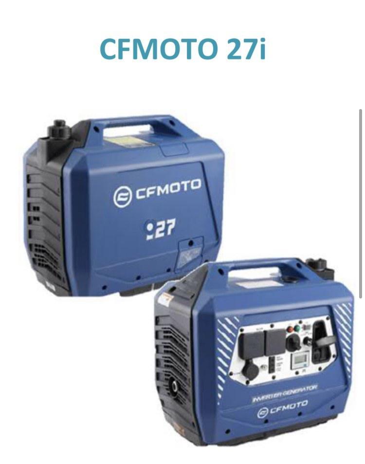 2021 CFMOTO 27 I - Generatrice Nouveauter