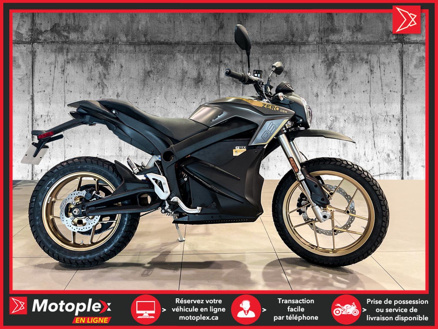 2021 Zero Motorcycles Moto électrique - DSR 14.4