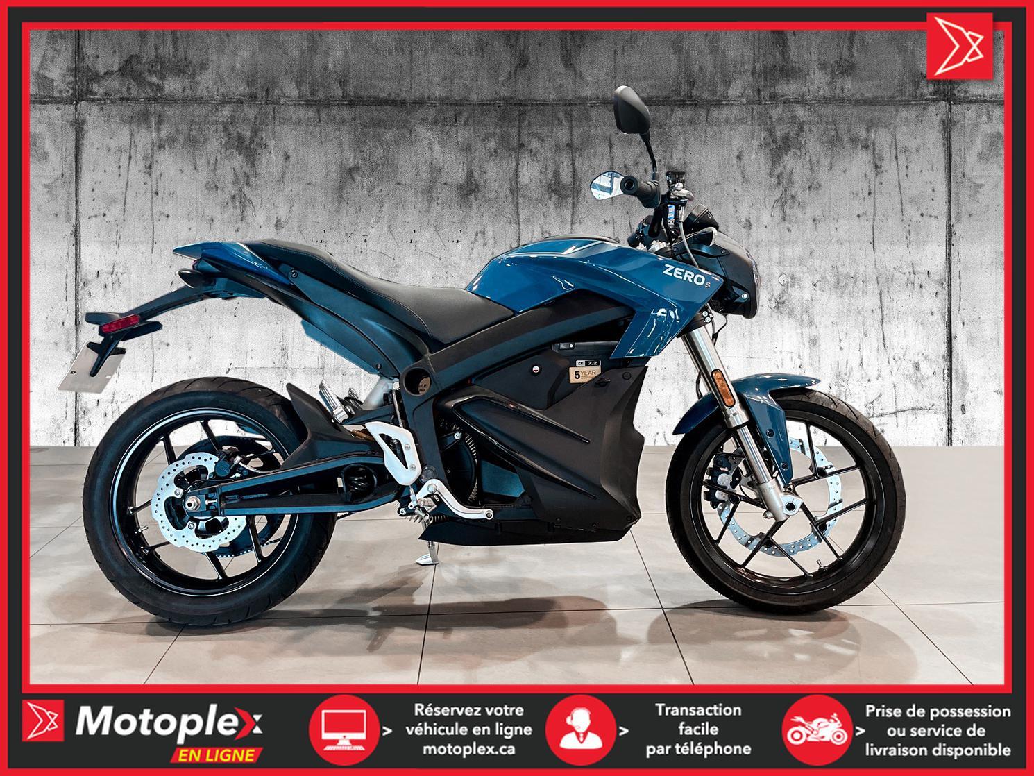 2020 Zero Motorcycles Moto électrique - S 7.2