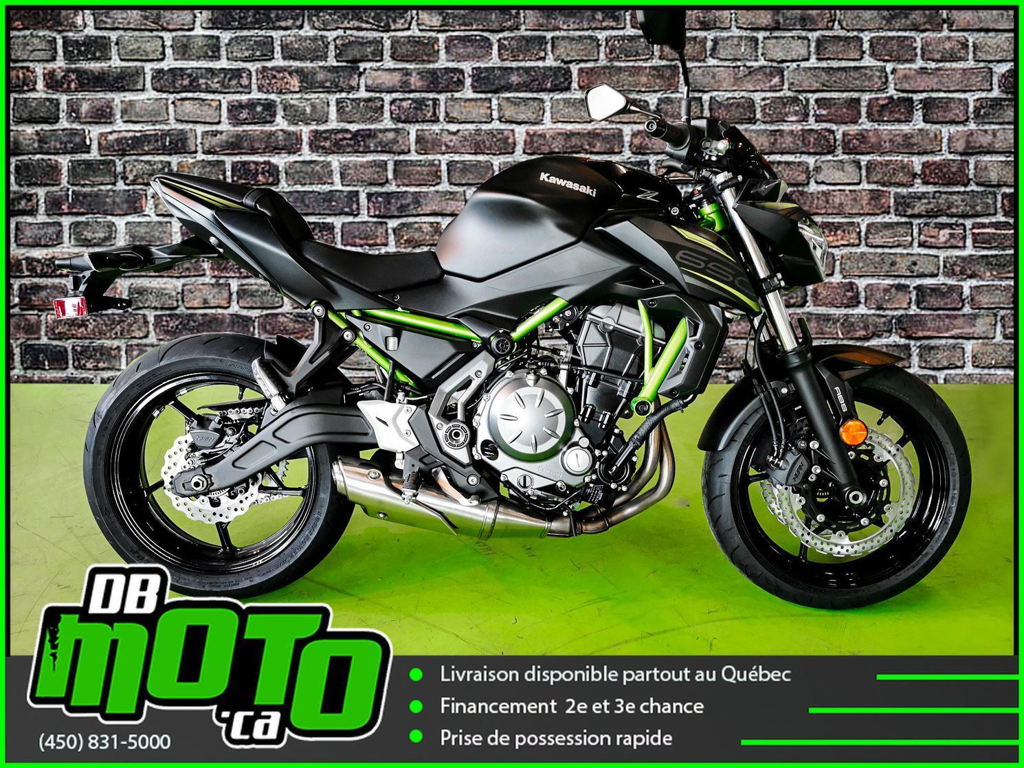 Kawasaki Z 650 ABS  27$*/SEMAINE 2020