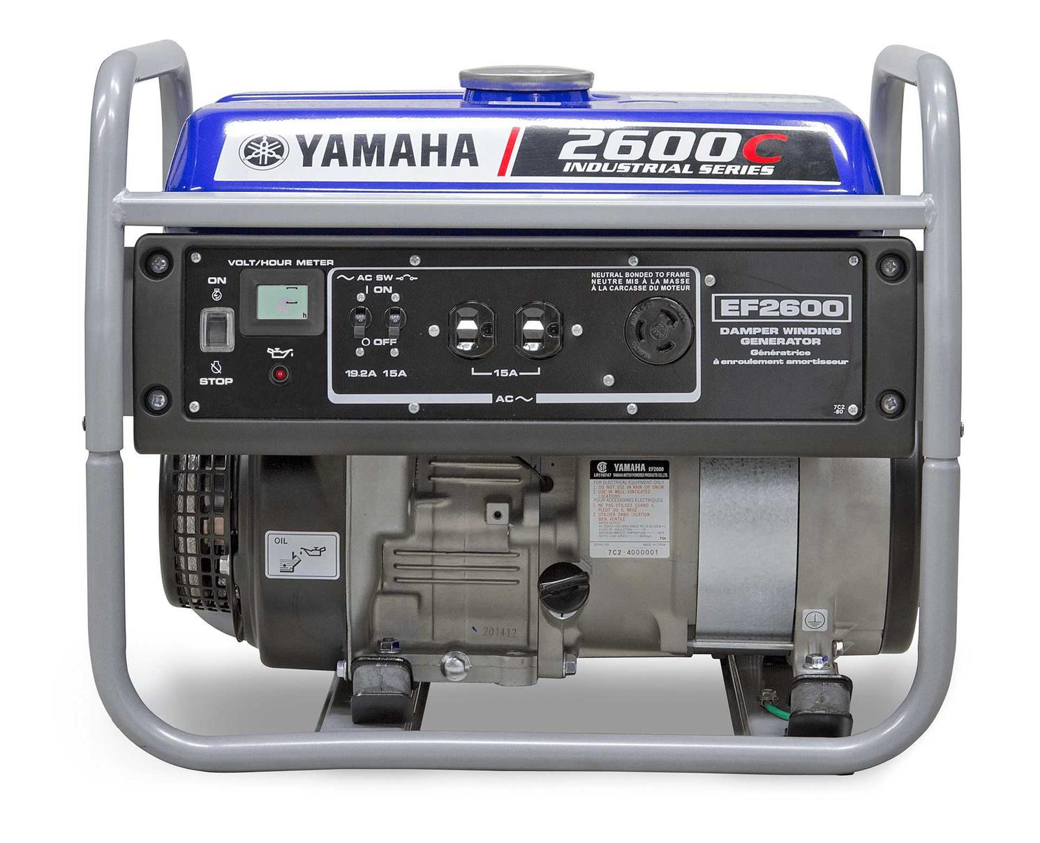 Yamaha Génératrices de prestige EF2600C 2021
