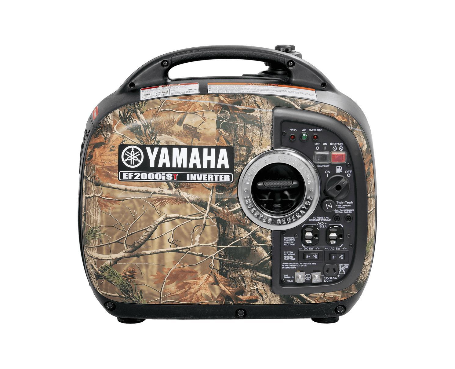 Yamaha Génératrices à inverseur EF2000IST Camouflage Noir