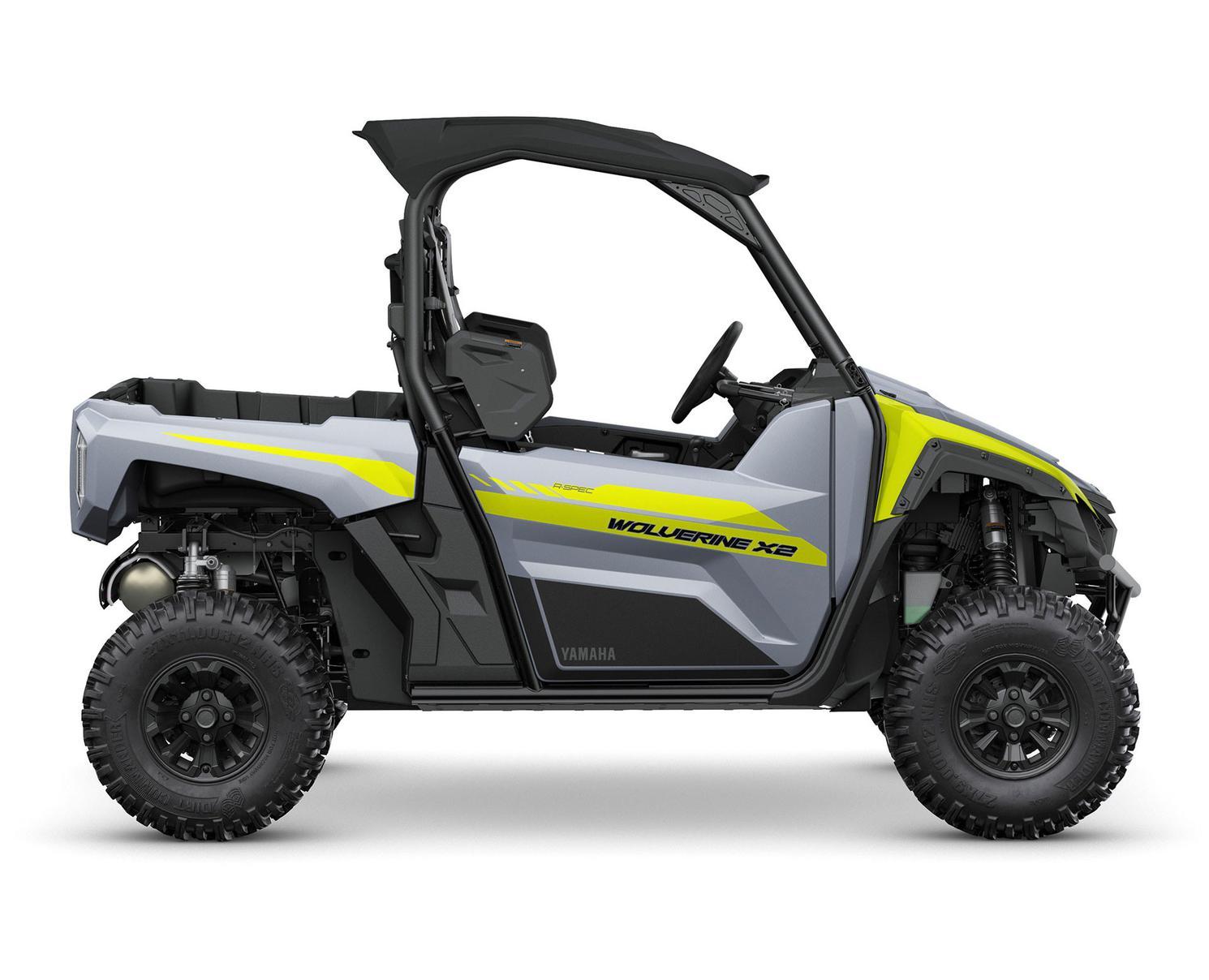 Yamaha Wolverine X2 850 R-SPEC Gris Blindé/Jaune 2022