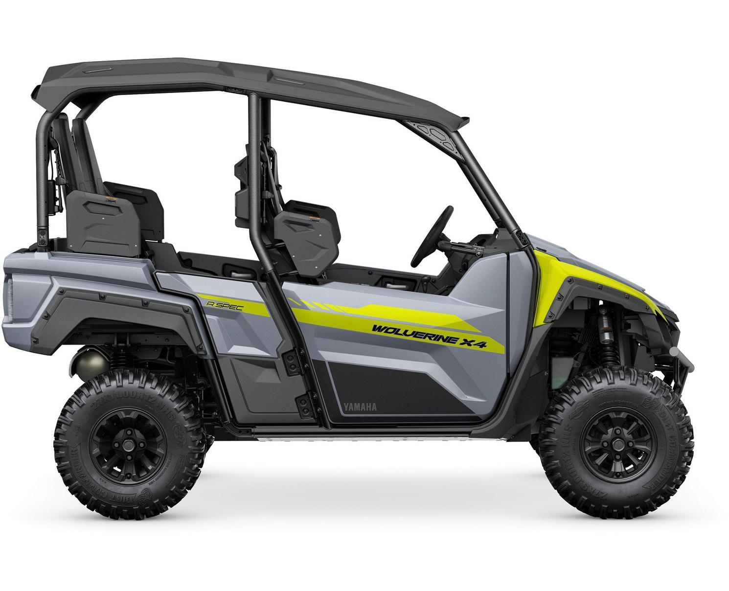 Yamaha Wolverine X4 850 R-SPEC Gris Blindé/Jaune 2022