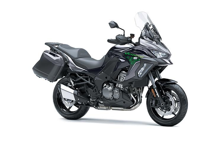 2022 Kawasaki VERSYS 1000 LT SE Metallic Graphite Gray / Metallic Diablo Black / Metallic Flat Spark Black