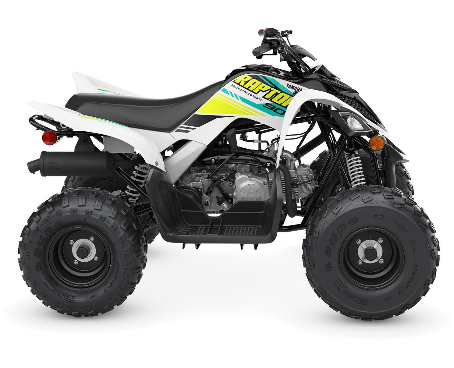 Yamaha Raptor 90 Noir/Blanc 2022
