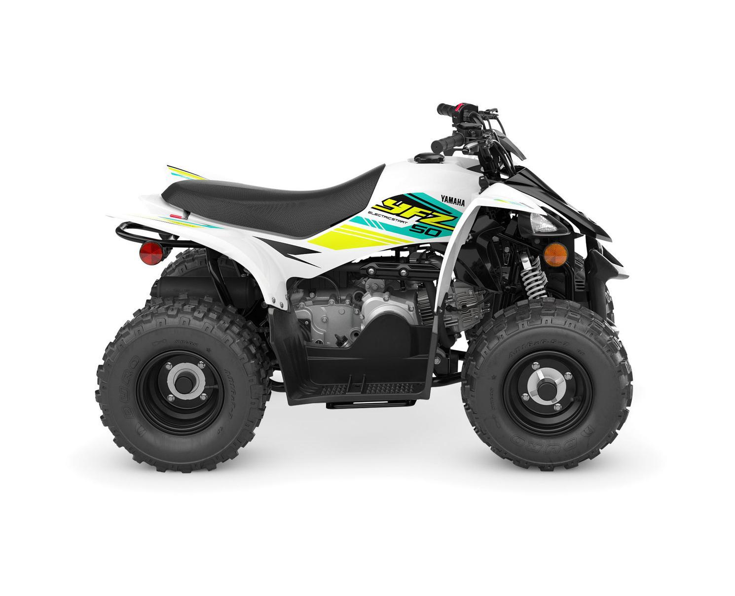 Yamaha YFZ50 Noir/Blanc 2022