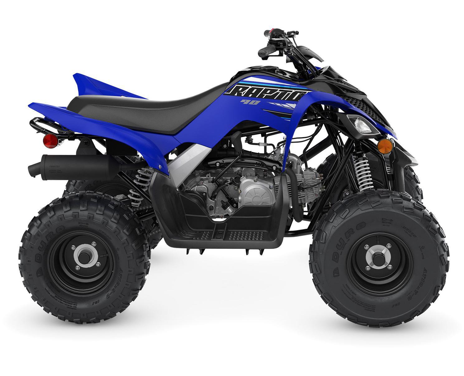 Yamaha Raptor 90 Bleu Team Yamaha 2022