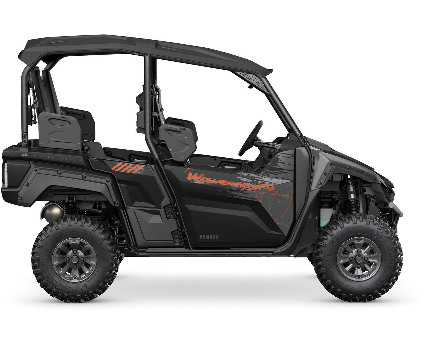 Yamaha Wolverine X4 850 SE Noir Tactique/Carbone Métallique 2022