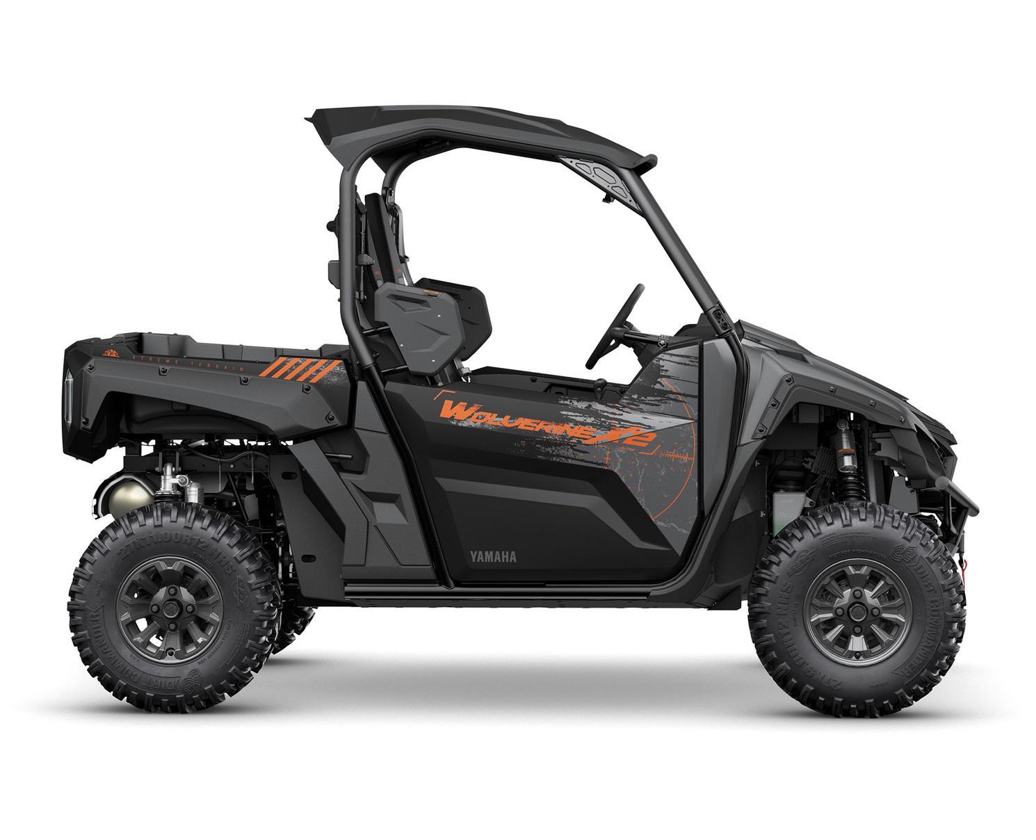 Yamaha Wolverine X2 850 SE Noir Tactique/Carbone Métallique 2022