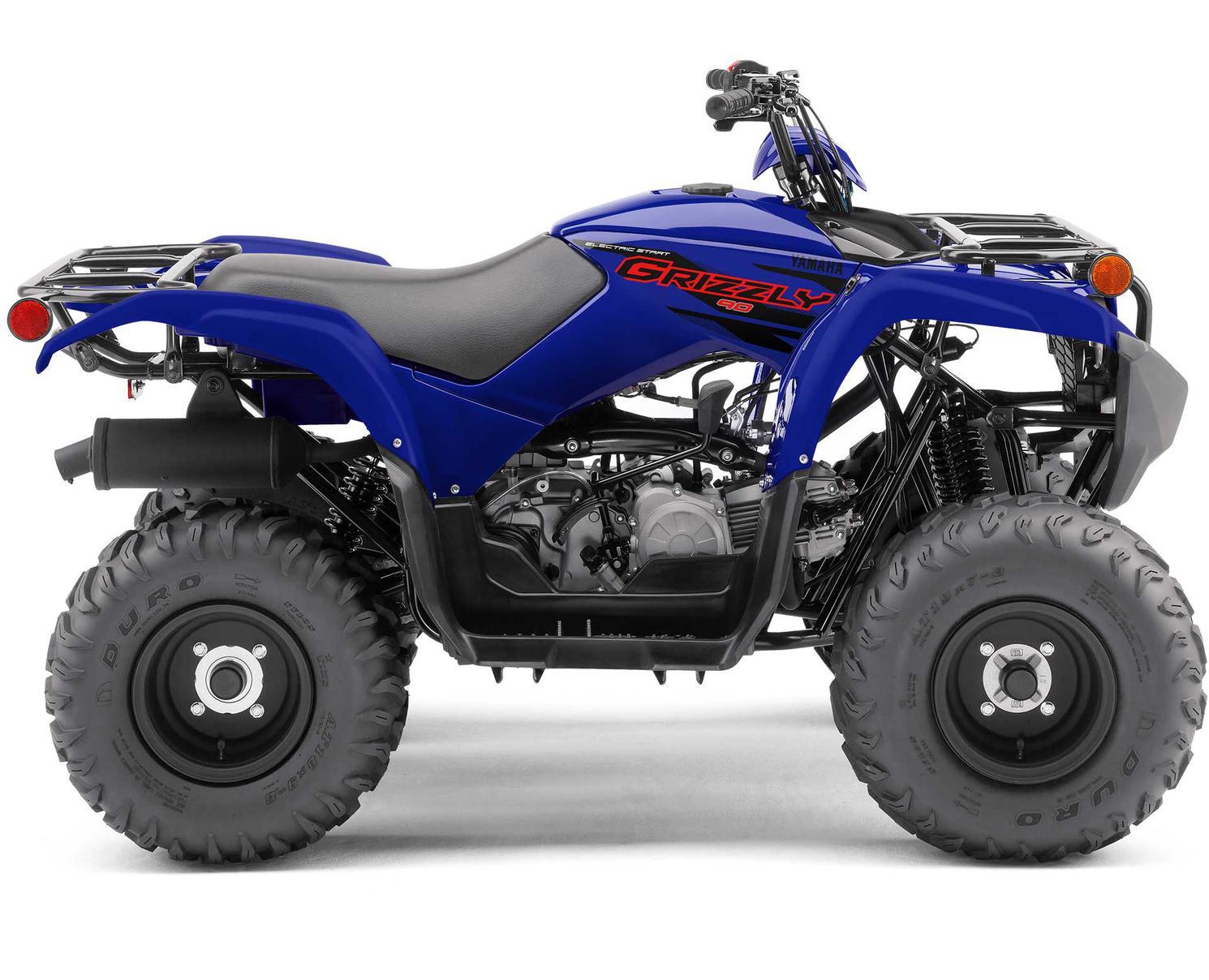 Yamaha Grizzly 90 Bleu De L'Écurie Yamaha 2022