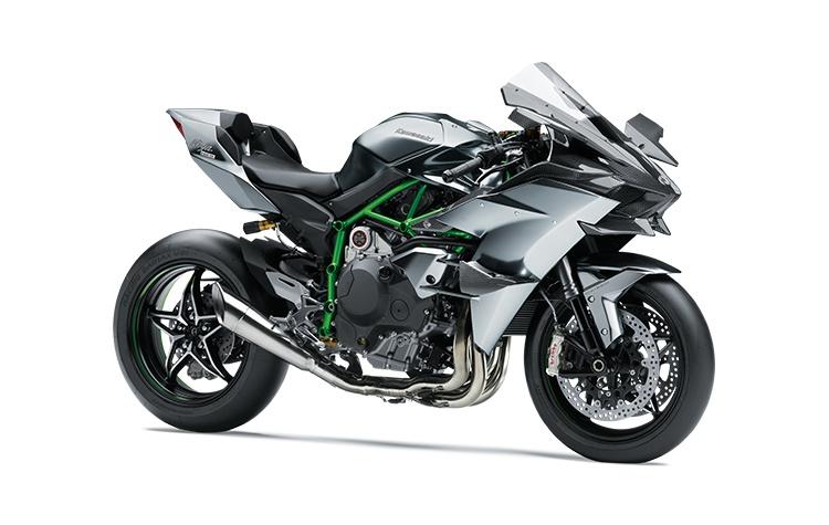 2022 Kawasaki NINJA H2R Mirror Coated Matte Spark Black