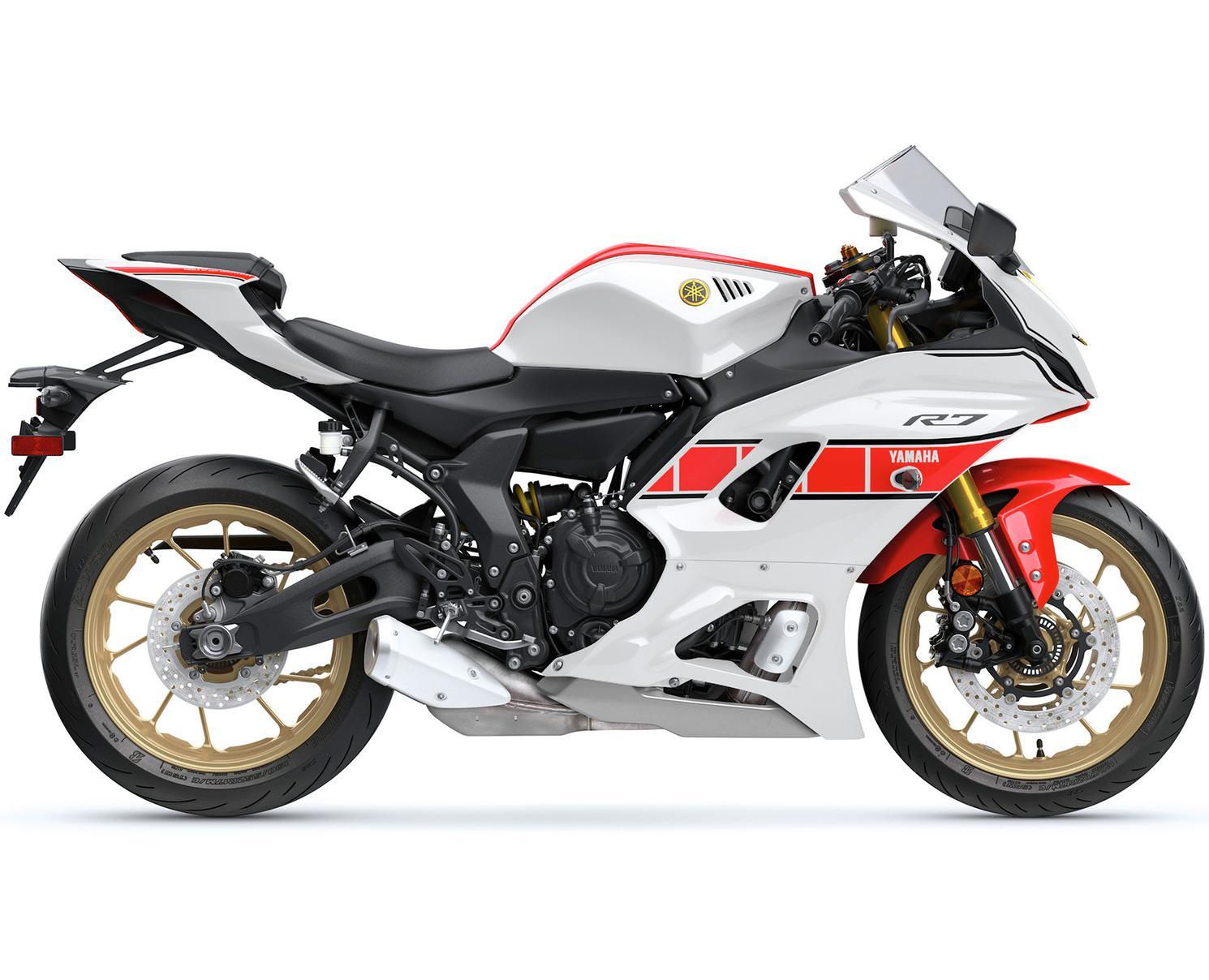 2022 Yamaha YZF-R7 World Gp 60Th Anniversary Edition