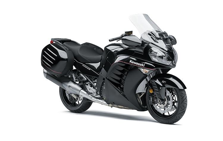 2022 Kawasaki CONCOURS 14 Metallic Spark Black