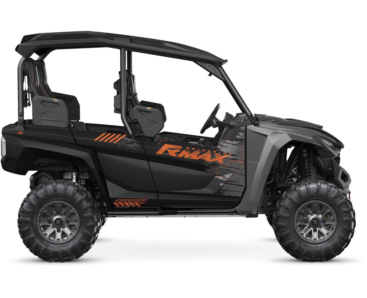 Yamaha Wolverine® RMAX™ 4 1000 SE Noir Tactique/Carbone Métallique 2022