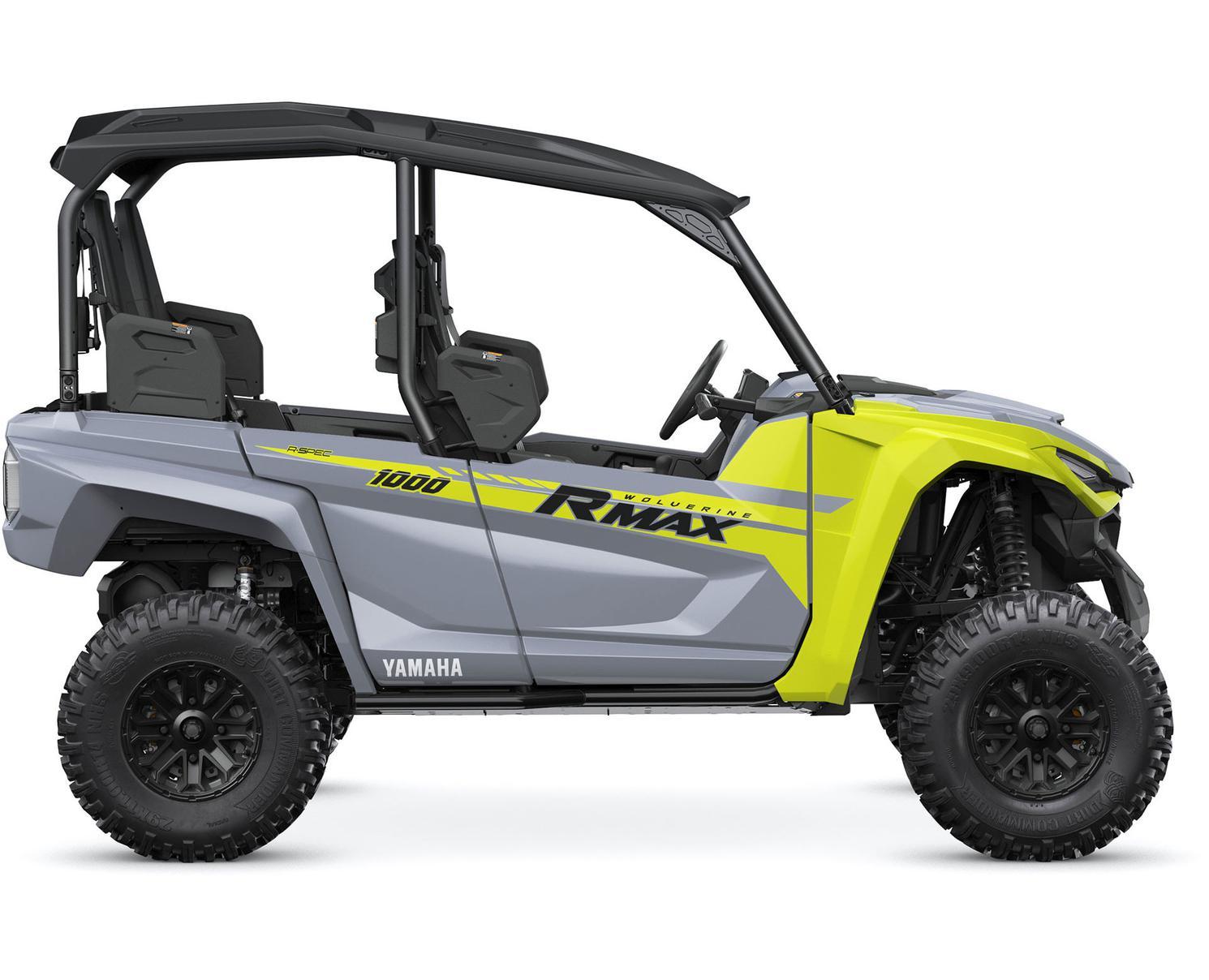 Yamaha Wolverine® RMAX™ 4 1000 R-SPEC Gris Blindé/Jaune 2022