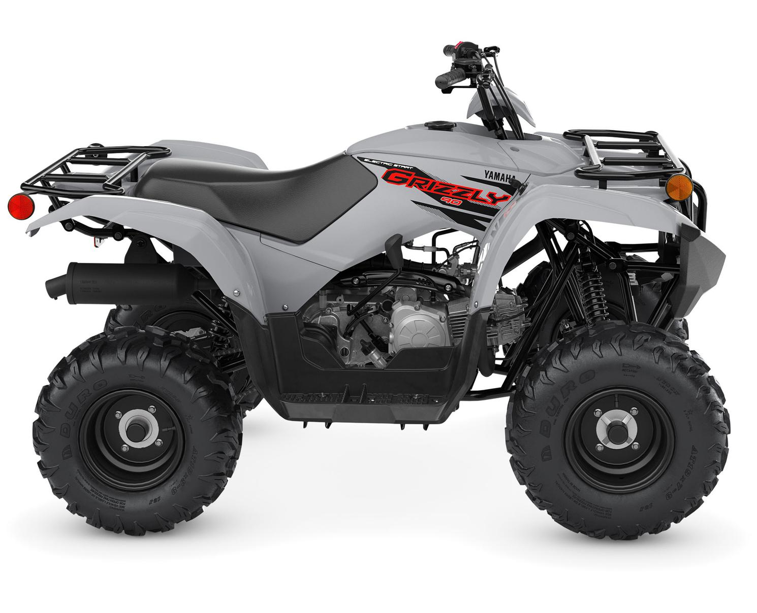 Yamaha Grizzly 90 Gris Blindé 2022