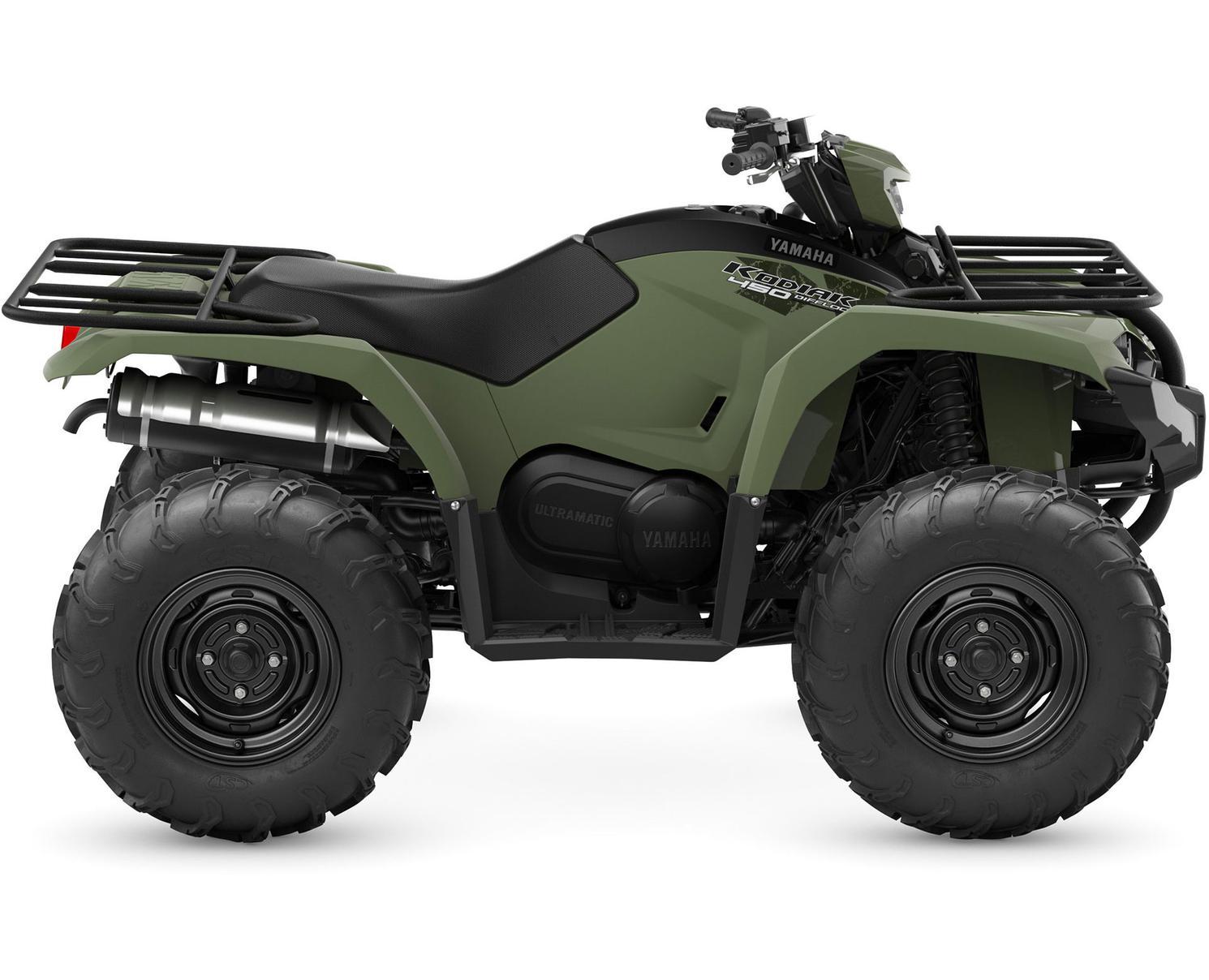 Yamaha Kodiak 450 EPS Vert Tactique 2022