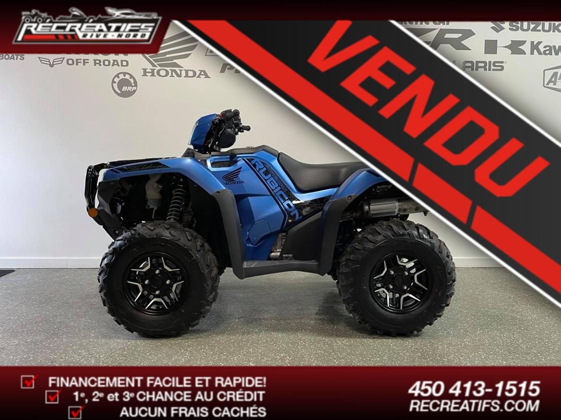 Honda FOREMAN RUBICON 520 DELUXE DCT EPS IRS 2022
